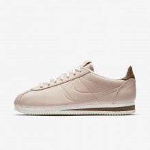 100BMISN Womens Particle Beige/Orange Quartz/Sail Nike x Maria Sharapova Classic Cortez LA Lifestyle Shoes