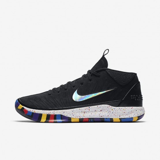 119IQPRW Mens Black/Multi-Color Nike Kobe A.D. The Moment Basketball Shoes