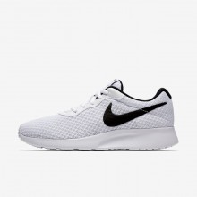 128FLGPC Womens White/Black Nike Tanjun Lifestyle Shoes