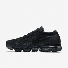 148DWRGM Zapatillas Running Nike Air VaporMax Flyknit Mujer Negras/Gris Oscuro