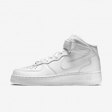 158FOCSW Womens White Nike Air Force 1 Mid 07 Lifestyle Shoes