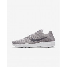 160UXMSQ Womens Atmosphere Grey/White/Gunsmoke Nike Free TR Flyknit 2 Training Shoes