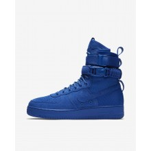 165YWJTS Mens Game Royal Nike SF Air Force 1 Lifestyle Shoes