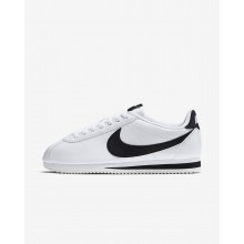 170OMLKF Womens White/Black Nike Classic Cortez Lifestyle Shoes