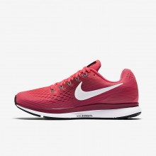 185INEMH Womens Racer Pink/Vast Grey/Atmosphere Grey/Gunsmoke Nike Air Zoom Pegasus 34 Running Shoes