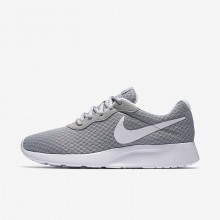 200KMXYD Womens Wolf Grey/White Nike Tanjun Lifestyle Shoes