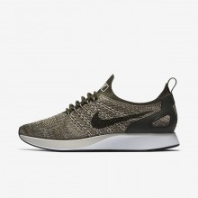 222JDKHN Womens Cargo Khaki/Summit White/Light Bone Nike Air Zoom Mariah Flyknit Racer Lifestyle Shoes
