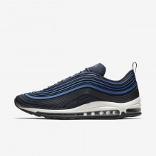 239BDVRH Mens Navy/Sail/Obsidian Nike Air Max 97 Ultra 17 Premium Lifestyle Shoes