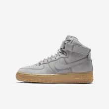 244VXFMP Zapatillas Casual Nike Air Force 1 High WB Niño Gris/Negras/Marrones Claro