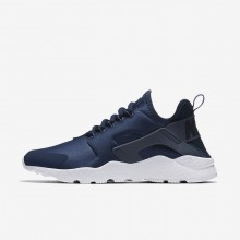 255WRUHD Womens Navy/Obsidian/White/Diffused Blue Nike Air Huarache Ultra Lifestyle Shoes