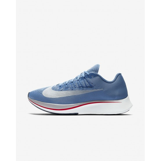 272DCKSQ Mens Aegean Storm/Blue Nebula/Thunder Blue/Summit White Nike Zoom Fly Running Shoes