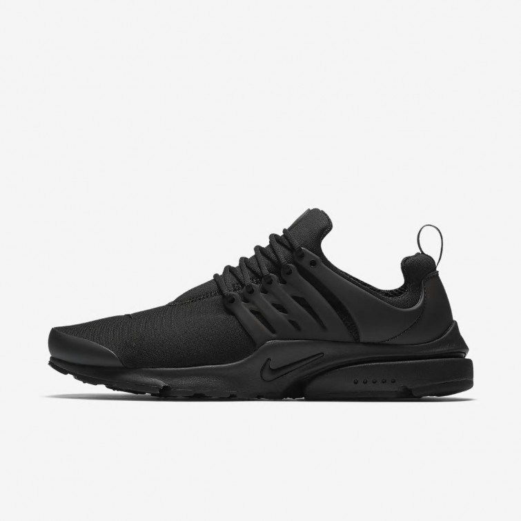 best service 334be c9122 289ECXFH Mens Black Nike Air Presto Essential Lifestyle Shoes