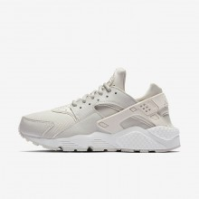 299QZACW Womens Phantom/Summit White/Light Bone Nike Air Huarache Lifestyle Shoes
