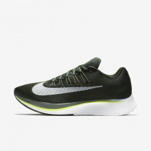 299VSBZG Mens Sequoia/Medium Olive/Dark Stucco/White Nike Zoom Fly Running Shoes