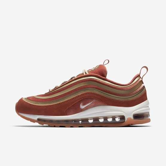 302UWOKD Womens Dusty Peach/Bio Beige/Summit White Nike Air Max 97 Ultra 17 LX Lifestyle Shoes