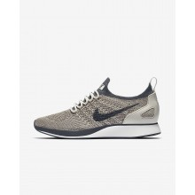 304OWIBS Zapatillas Casual Nike Air Zoom Mariah Flyknit Racer Mujer Gris/Blancas/Claro Gris Oscuro