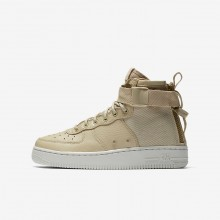 312UWDMK Zapatillas Casual Nike SF Air Force 1 Mid Niño Claro
