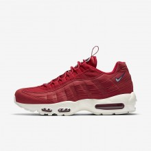 315HFDKW Mens Gym Red/Gym Blue/Sail Nike Air Max 95 Lifestyle Shoes
