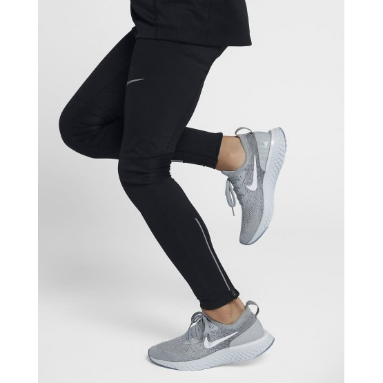 326AQDEB Chaussure Running Nike Epic React Flyknit Garcon Grise/Grise/Platine/Blanche
