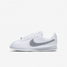 330LMZWK Chaussure Casual Nike Cortez Basic SL Fille Blanche/Grise