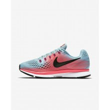 335TLPWX Womens Racer Pink/Mica Blue/Sport Fuchsia/White Nike Air Zoom Pegasus 34 Running Shoes