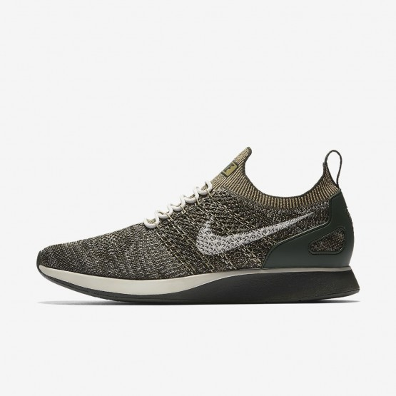 338PUGNY Mens Sequoia/Light Bone/Neutral Olive Nike Air Zoom Mariah Flyknit Racer Lifestyle Shoes