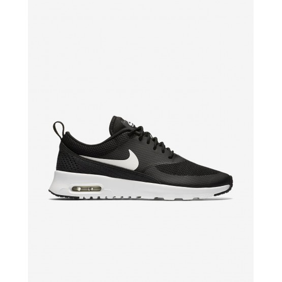 378SHWLN Womens Black/Summit White Nike Air Max Thea Lifestyle Shoes