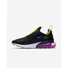 381OJIXC Mens Black/Hyper Grape/Tour Yellow/Hyper Magenta Nike Air Max 270 Lifestyle Shoes