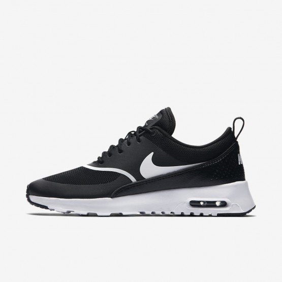 385AQSBH Womens Black/White Nike Air Max Thea Lifestyle Shoes