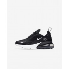 402HQLPF Boys Black/Anthracite/White Nike Air Max 270 Lifestyle Shoes