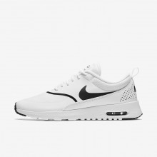 430HIVMK Womens White/Black Nike Air Max Thea Lifestyle Shoes