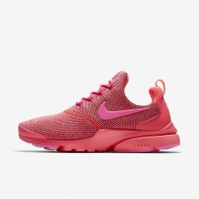 431WSGRA Womens Hot Punch/Pink Blast Nike Presto Fly SE Lifestyle Shoes