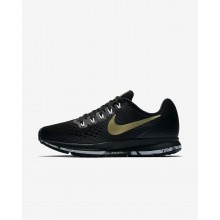 476TSYUH Womens Black/Anthracite/White/Metallic Gold Star Nike Air Zoom Pegasus 34 Running Shoes