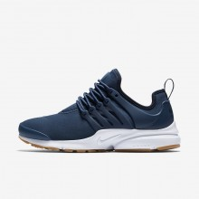 477KALRV Womens Navy/Obsidian/Gum Light Brown Nike Air Presto Lifestyle Shoes