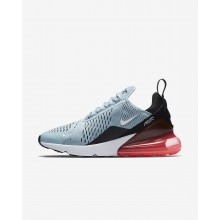 528CVWOF Womens Ocean Bliss/Black/Hot Punch/White Nike Air Max 270 Lifestyle Shoes