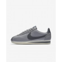 529NFSXV Womens Atmosphere Grey/Sail/Gunsmoke Nike Classic Cortez Lifestyle Shoes