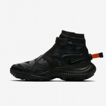 533XYZJU Mens Black/Anthracite/Team Orange Nike Gaiter Lifestyle Shoes