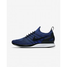 536NGVOI Chaussure Casual Nike Air Zoom Mariah Flyknit Racer Homme Noir/Blanche/Bleu