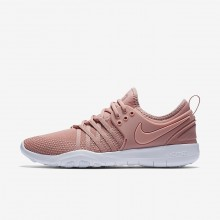 536WRIPG Womens Rust Pink/White/Coral Stardust Nike Free TR7 Training Shoes