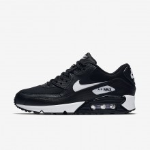 541JELVK Womens Black/White Nike Air Max 90 Lifestyle Shoes