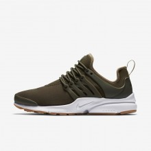 543WVBTN Womens Cargo Khaki/Neutral Olive/Gum Light Brown Nike Air Presto Lifestyle Shoes
