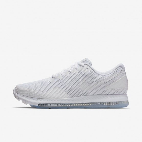 551JKLIH Mens White/Off White Nike Zoom All Out Low 2 Running Shoes