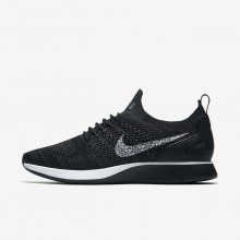 553DGTQW Mens Black/Anthracite/Dark Grey/Pure Platinum Nike Air Zoom Mariah Flyknit Racer Lifestyle Shoes