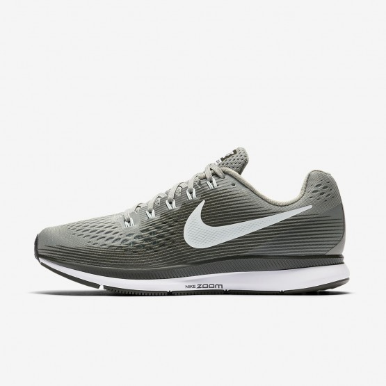574STYZN Womens Dark Stucco/Sequoia/Black/Barely Grey Nike Air Zoom Pegasus 34 Running Shoes