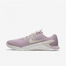585BKXLE Womens Particle Rose/Summit White/Opal Nike Metcon 4 Training Shoes