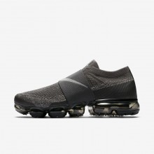610GALCH Mens Midnight Fog/Legion Green/Black/Dark Stucco Nike Air VaporMax Flyknit Moc Running Shoes