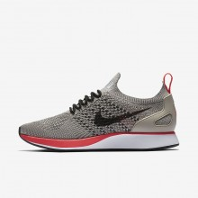 635RIBJF Womens String/White/Solar Red/Black Nike Air Zoom Mariah Flyknit Racer Lifestyle Shoes