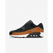 654CPVKL Womens Tar/Black/Cider Nike Air Max 90 LX Lifestyle Shoes