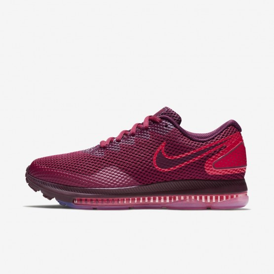 698HAEYL Womens Rush Maroon/Bordeaux Nike Zoom All Out Low 2 Running Shoes