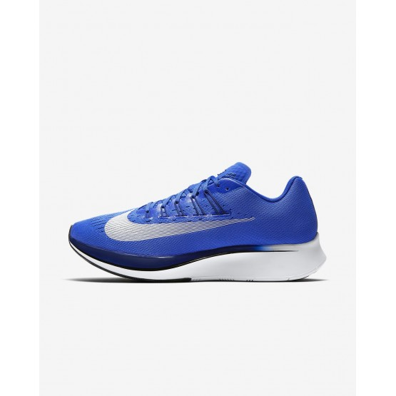 711ZKFXU Mens Hyper Royal/Deep Royal Blue/Black/White Nike Zoom Fly Running Shoes